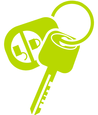 car key cutting and programming icon