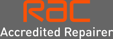 RAC Accredited Repairer logo